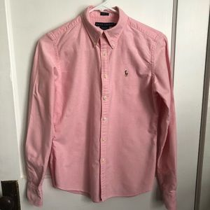 Ralph Lauren women's pink shirt
